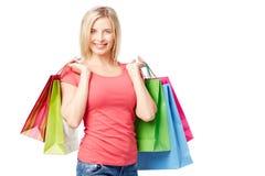 Casual shopper Royalty Free Stock Photo