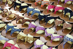 Casual Slippers. Image of casual slippers for sale Stock Photography