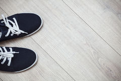 Casual sneakers Stock Images