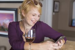 Casual Social Media Portrait Royalty Free Stock Photography