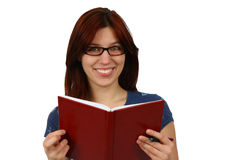 Casual student reading Stock Photography