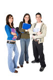 Casual students Stock Photo