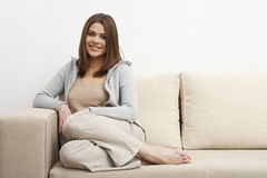 Casual style portrait Stock Image