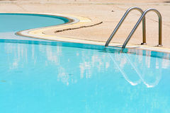 Casual swimming pool Royalty Free Stock Photography