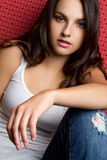 Casual Teen Girl Royalty Free Stock Photography