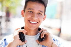 Casual teenage boy Stock Image