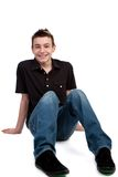 Casual teenager Stock Images