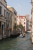 Casual touching Venice royalty free stock image