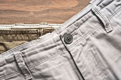 Casual trousers Royalty Free Stock Image