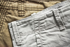 Casual trousers Royalty Free Stock Photography