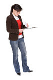 Casual woman Royalty Free Stock Photography