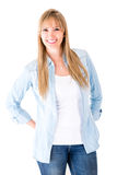 Casual woman Royalty Free Stock Photos
