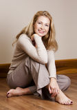 Casual woman Royalty Free Stock Images