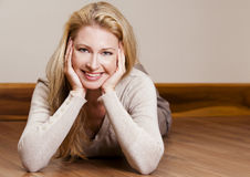 Casual woman Stock Images