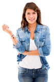 Casual woman Royalty Free Stock Image
