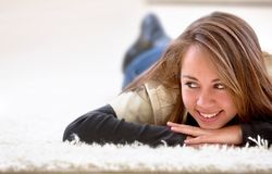 Casual woman portrait Royalty Free Stock Photos
