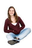 Casual woman portrait Royalty Free Stock Images