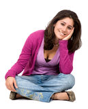 Casual woman portrait Stock Photo
