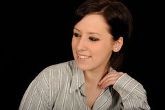 Casual woman portrait Stock Photography