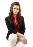 Casual woman portrait Royalty Free Stock Photography