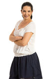 Casual woman posing Royalty Free Stock Image