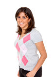 Casual woman standing Stock Photo