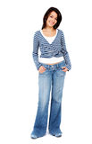 Casual woman standing Stock Photography