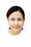 Casual Women. High key portrait royalty free stock image