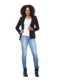 Casual young african american woman Royalty Free Stock Photo