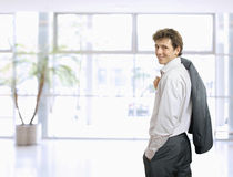 Casual young businessman Royalty Free Stock Photo