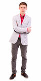 Casual Young Businessman Royalty Free Stock Images