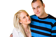 Casual young couple. Stock Photography