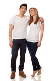 Casual Young Couple Stock Photo