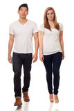 Casual Young Couple Stock Photography