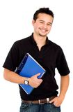 Casual young friendly student Royalty Free Stock Photos