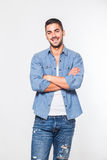 Casual young hansome man isolated Stock Photo