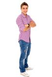 Casual young man Royalty Free Stock Photography
