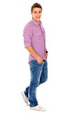 Casual young man Stock Image