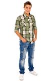 Casual young man. Young Man in Casual Clothes Stock Photography
