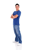 Casual young man Royalty Free Stock Images