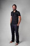 Casual young man full body portrait Royalty Free Stock Photography