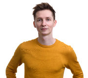 Casual young man isolated Royalty Free Stock Photography
