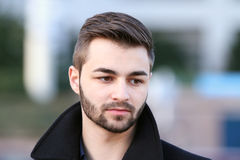 Casual young man portrait Royalty Free Stock Image