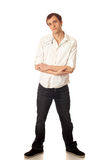 Casual Young Man Stock Images