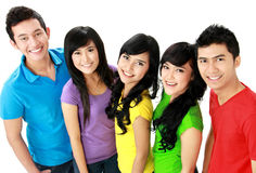 Casual young people Royalty Free Stock Images