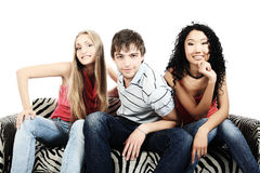 Casual young people Stock Photo