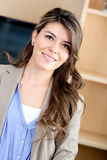 Casual young woman Royalty Free Stock Images