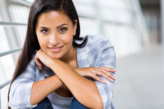 Casual young woman Royalty Free Stock Photography