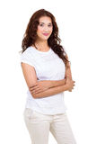 Casual young woman Royalty Free Stock Photo