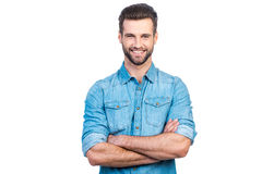 Free Casually Handsome. Royalty Free Stock Photography - 73165777